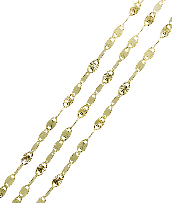 60cc87640 Brilio Retiazka zo žltého zlata 45 cm 271 115 00206 - 1,85 g na predaj