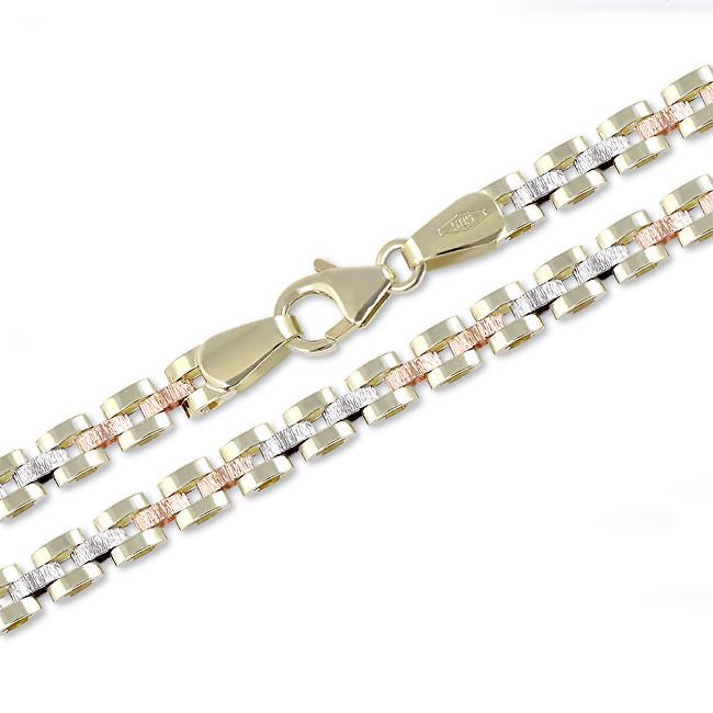 Brilio Lănțișoare de aur tricolor elegant 45 cm 271 115 00305 - 11.80 g