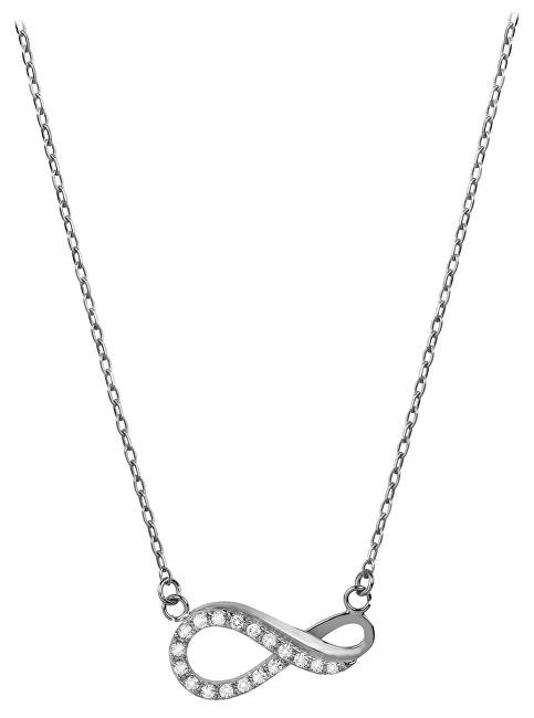 Brilio Zlatý náhrdelník Nekonečno s krystaly 279 001 00087 07 - 2,10 g