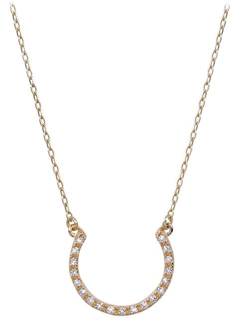 Brilio Zlatý náhrdelník s krystaly 279 001 00081 - 2,55 g