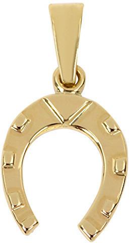 a083ea164 Brilio Zlatý prívesok podkova 241 001 00219 - 0,50 g