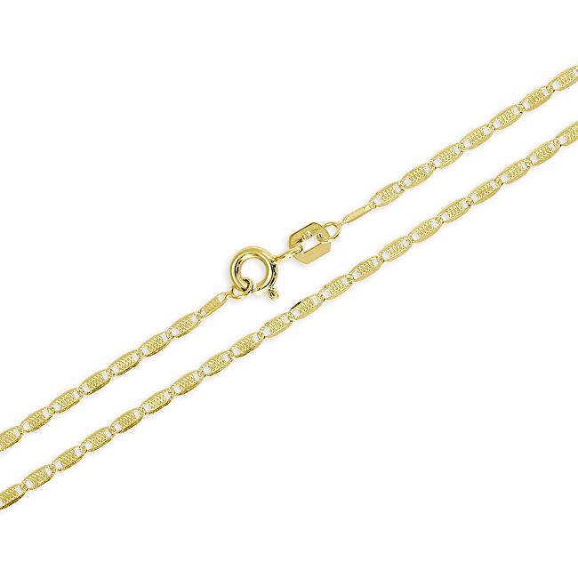 Brilio Jemný zlatý řetízek pro ženy 45 cm 271 115 00136 - 2,10 g