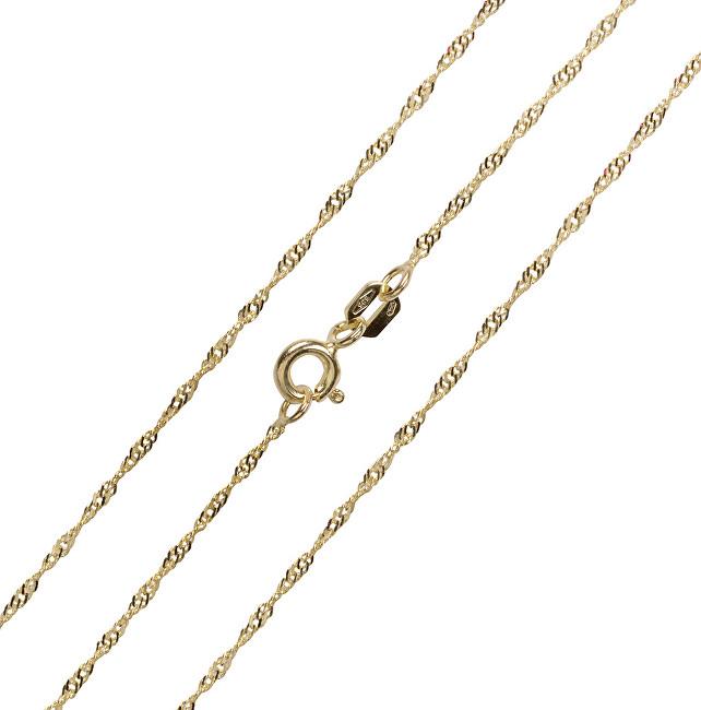 Brilio Lănțișor de aur de lux 45 cm 271 115 00181 - 1.40 g