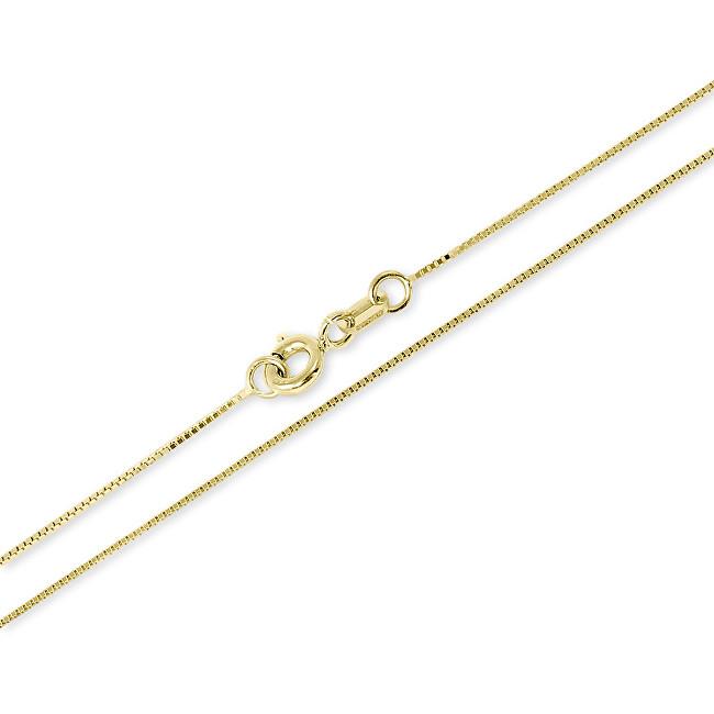 Brilio Luxusní zlatý řetízek 50 cm 271 115 00132 - 1,70 g