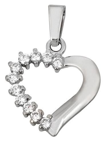Brilio Přívěsek srdce s krystaly 249 001 00351 07 - 1,40 g