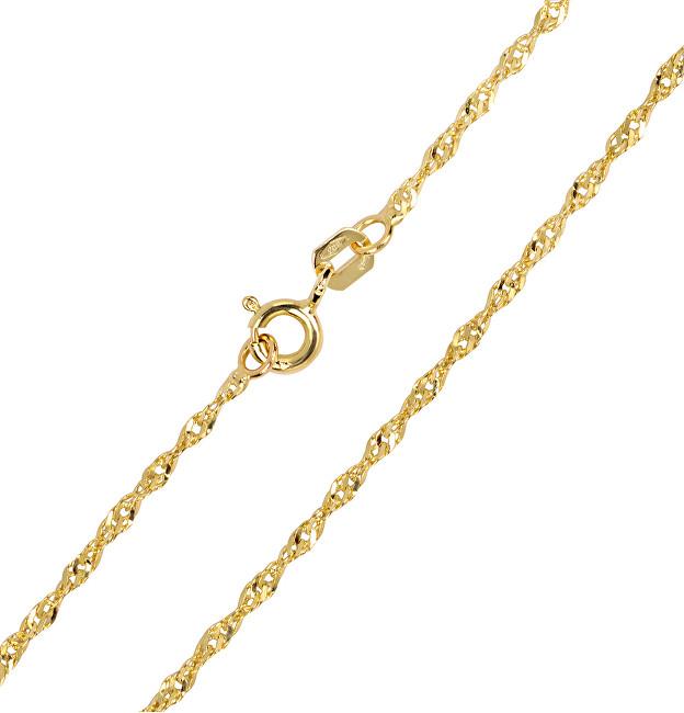 Brilio Lama de aur cu lanțuri de aur 42 cm 271 115 00175