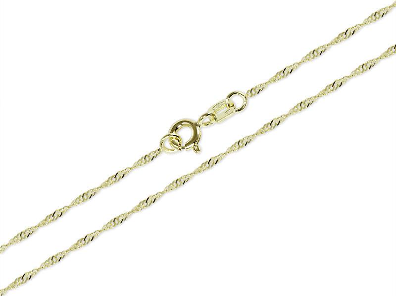 Brilio Lămpi de aur pentru femei Lambada 50 cm 271 115 00182 - 1.50 g