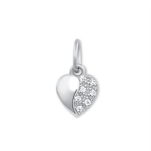 Brilio Zlatý přívěsek Srdce s krystaly 249 001 00537 07 - 0,40 g