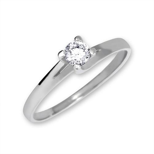 Brilio Zlatý zásnubní prsten 223 001 00090 07 - 1,80 g 55 mm