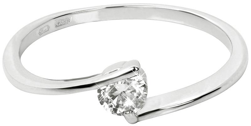 Brilio Zlatý zásnubní prsten 226 001 00995 07 55 mm