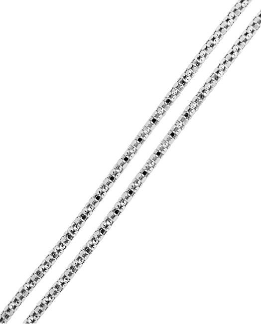 Brilio Silver Jemný náramek ze stříbra 18 cm 461 086 00070 04 - 0,77 g