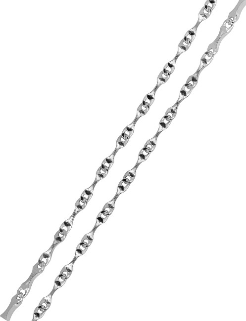 Brilio Silver Jemný náramek ze stříbra 19 cm 461 086 00139 04 - 1,46 g