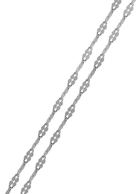 Brilio Silver Jemný náramek ze stříbra 19 cm 461 086 00144 04 - 0,49 g