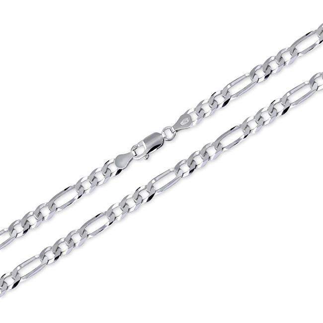Brilio Silver Pánský řetízek ze stříbra Figaro 50 cm 471 086 00165 04 - 13,80 g