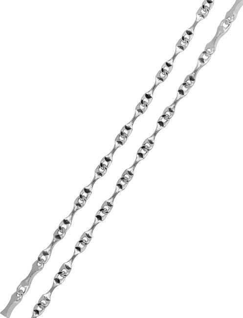 Brilio Silver Slušivý náramek 18 cm 461 086 00138 04 - 1,40 g