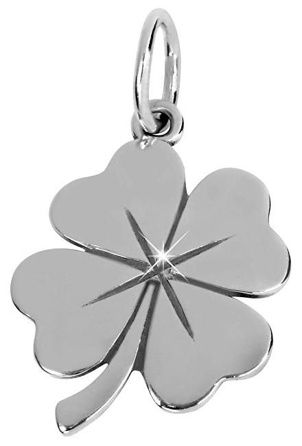 Brilio Silver Stříbrný přívěsek čtyřlístek 441 001 02075 04 - 0,73 g