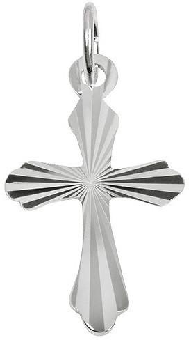 Brilio Silver Stříbrný přívěsek křížek 441 001 00109 04 - 0,64 g