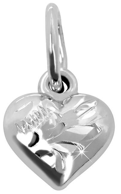 Brilio Silver Stříbrný přívěsek Srdce 441 001 00593 04 - 0,74 g