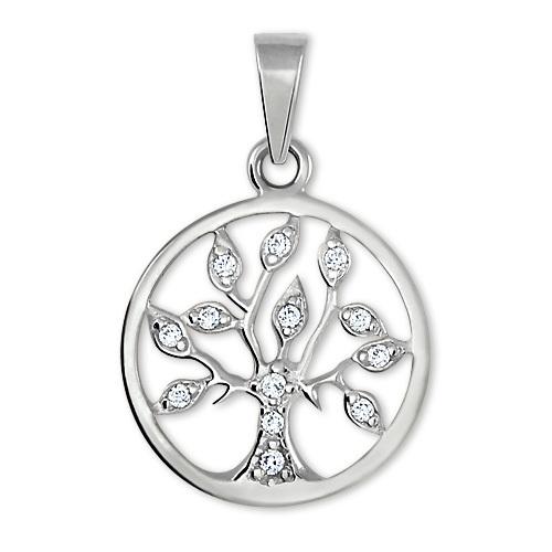 Brilio Silver Stříbrný přívěsek Strom života 446 001 00356 04