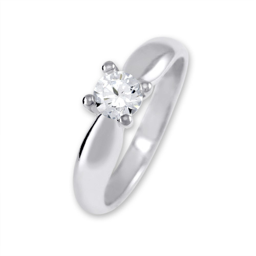 Brilio Silver Stříbrný zásnubní prsten 426 001 00401 04 - 2,35 g 50 mm