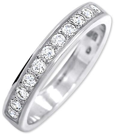 Brilio Silver Stříbrný prsten s krystaly 426 001 00299 04 50 mm