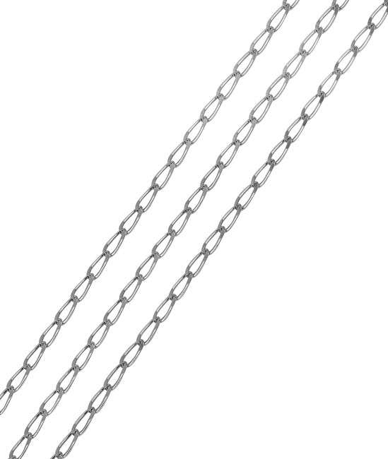 Brilio Silver Stříbrný řetízek Jehlička 42 cm 471 001 01743 04 - 1,55 g