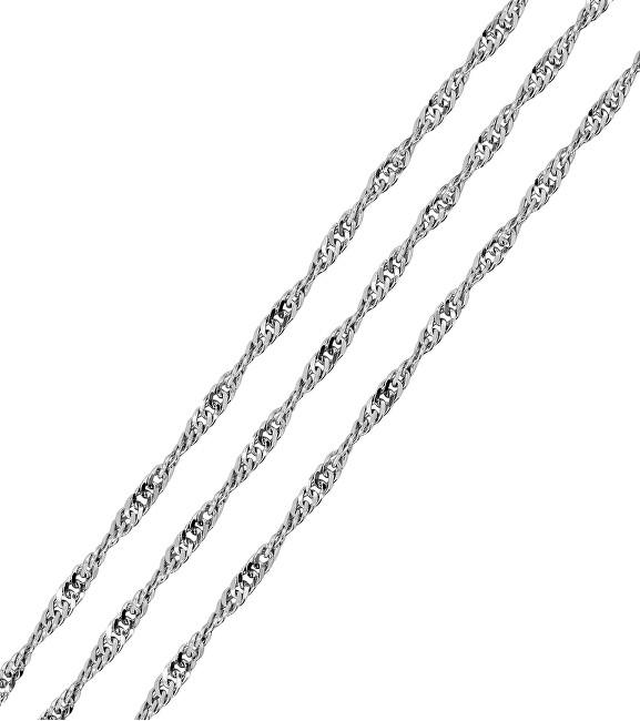 Brilio Silver Lanț de argint Lambada 50 cm 471 086 00010 04 - 2.24 g
