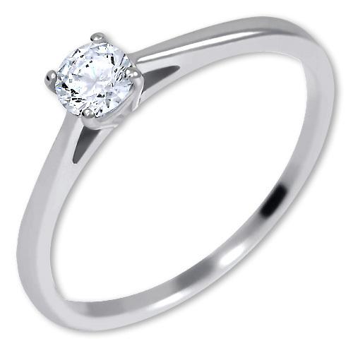 Brilio Silver Stříbrný zásnubní prsten 426 001 00539 04 48 mm