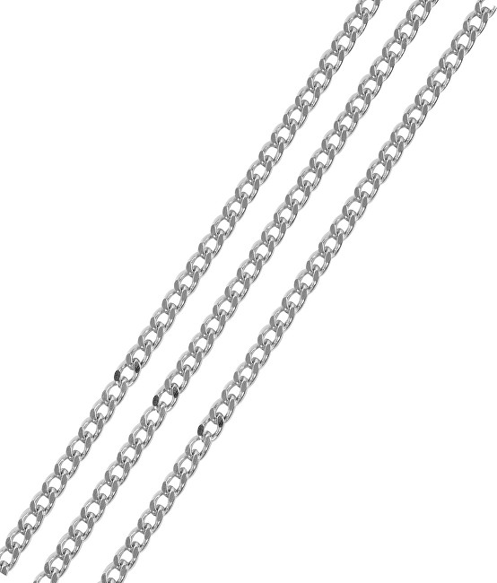 Brilio Silver Stříbrný řetízek Pancer 42 cm 471 086 00026 04 - 1,69 g