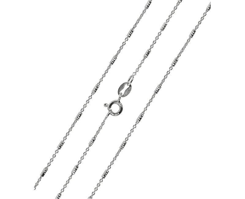Brilio Silver Zdobený stříbrný náhrdelník 42 cm 471 086 00001 04 - 2,02 g