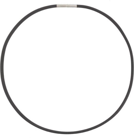 Boccia Titanium Kaučukový náhrdelník 0827-01 42 cm