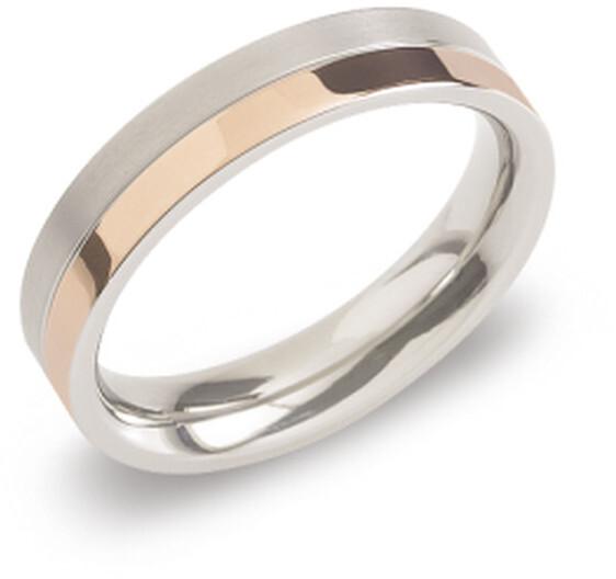 Boccia Titanium Pozlacený titanový snubní prsten 0129-07 48 mm