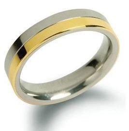 Boccia Titanium Snubný titánový prsteň 0129-02 62 mm