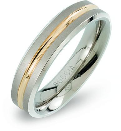 Boccia Titanium Snubní titanový prsten 0144-02 50 mm