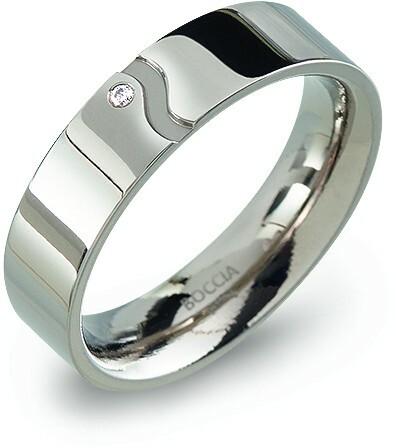 Boccia Titanium Snubní titanový prsten 0147-02 53 mm