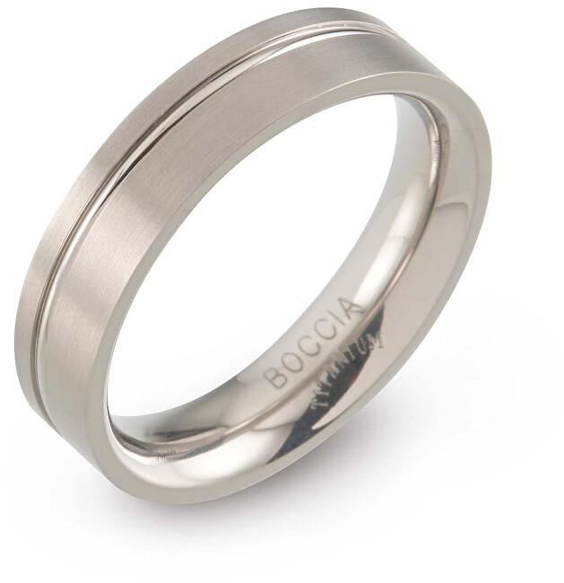Boccia Titanium Titanový prsten 0149-01 56 mm