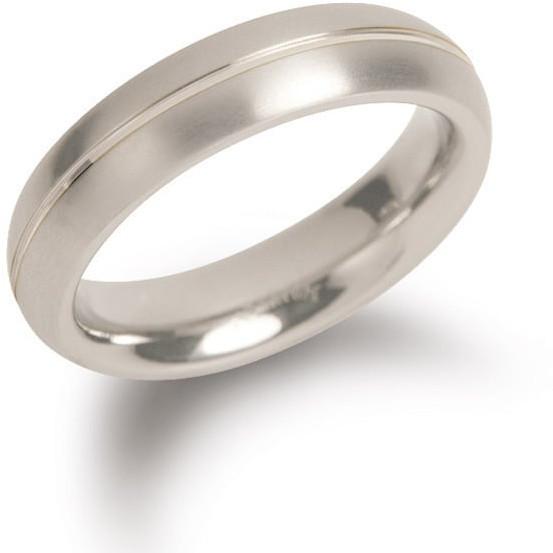 Boccia Titanium Titanový snubní prsten 0130-01 50 mm
