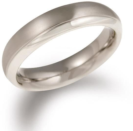 Boccia Titanium Titanový snubní prsten 0130-07 48 mm