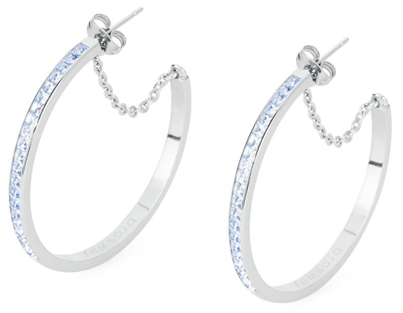 Brosway Ocelové náušnice kruhy Ear Tring BER27