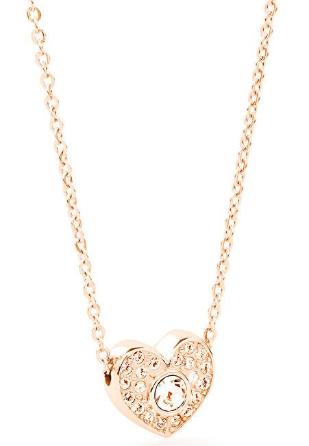 Brosway Oceľový náhrdelník so srdiečkom Epsilon BEO07