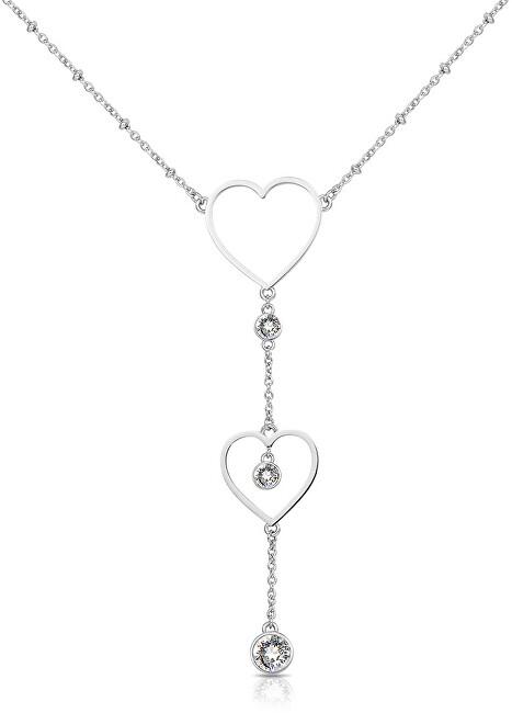 Brosway Srdiečkový oceľový náhrdelník Sight BGH01