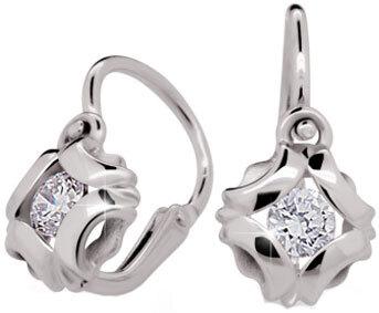 Cutie Diamonds Dětské náušnice Terezka ND2216
