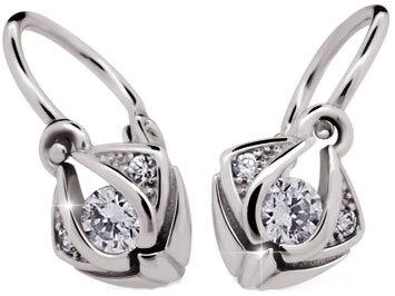 Cutie Diamonds Dětské náušnice Věruška ND2217