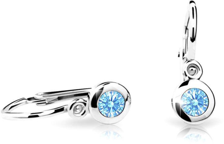 Cutie Jewellery Detské náušnice C1537-10-2 fuchsiová