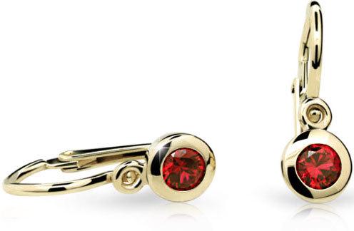 Cutie Jewellery Dětské náušnice C1537-10 fuchsiová