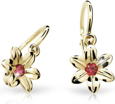 Cutie Jewellery Dětské náušnice C1993-10-X-1 růžová