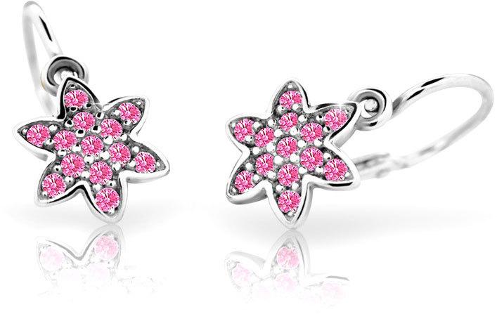 Cutie Jewellery Dětské náušnice C2206-10-X-2 růžová