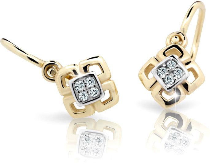 Cutie Jewellery Dětské náušnice C2240-10-X-1 růžová