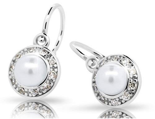 Cutie Jewellery Dětské náušnice s perlami C2393-10-C5-S-2