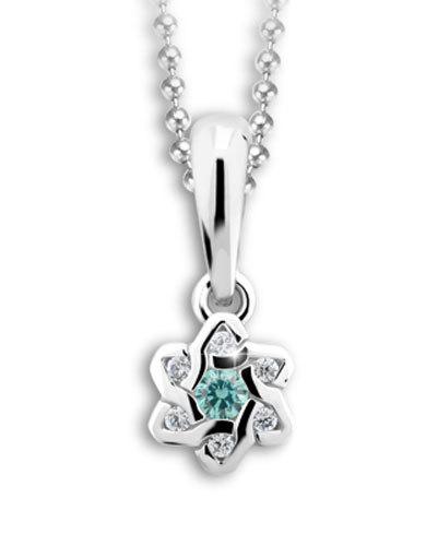 Cutie Jewellery Přívěsek C2149-40-X-2 světle modrá